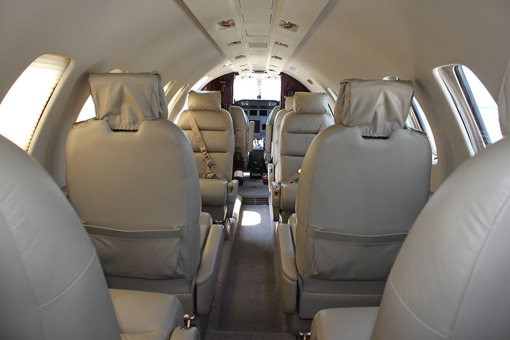 Citation 3 seating