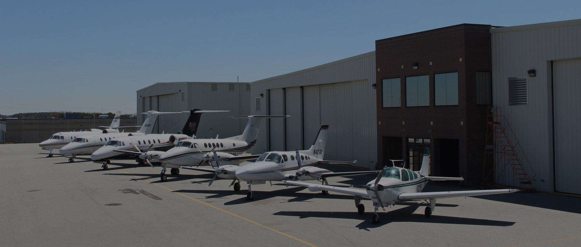 charter plane lineup