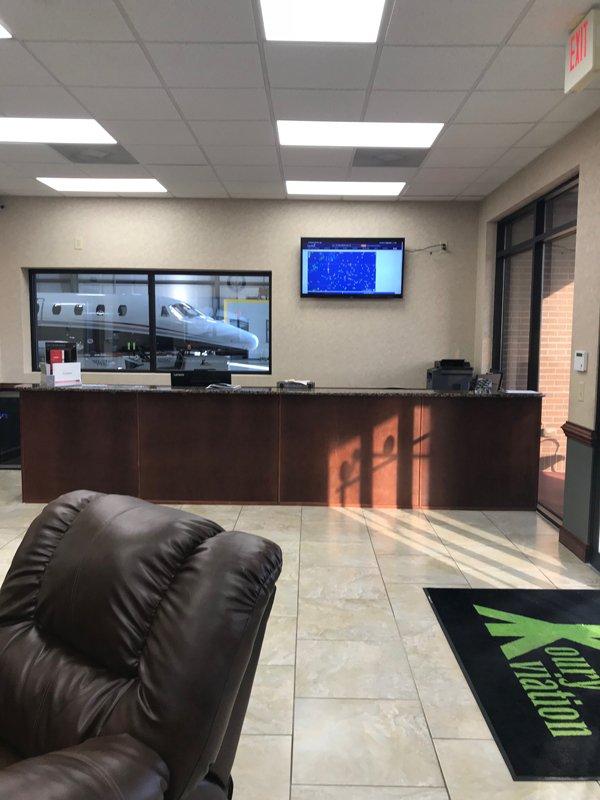 FBO lounge view